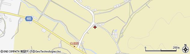 京都府綾部市白道路町(摺鉢田)周辺の地図