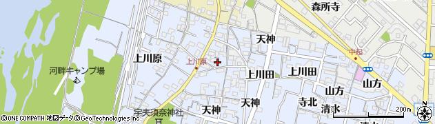 愛知県一宮市木曽川町里小牧(砂越)周辺の地図