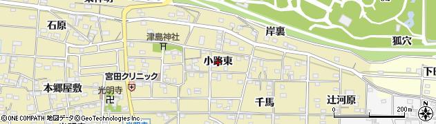愛知県一宮市光明寺(小路東)周辺の地図