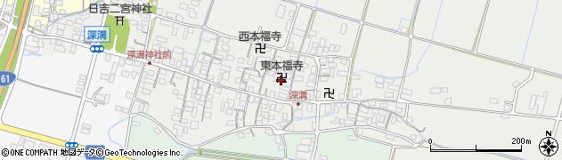 東本福寺周辺の地図