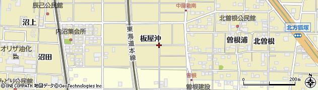 愛知県一宮市北方町北方(板屋沖)周辺の地図