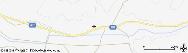 京都府綾部市上杉町(西ケ迫)周辺の地図