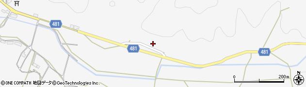 京都府綾部市上杉町(堤)周辺の地図
