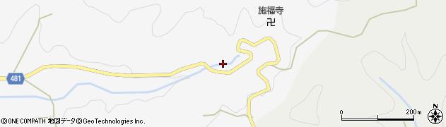 京都府綾部市上杉町(寺ノ迫)周辺の地図