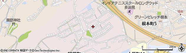 岐阜県多治見市昭栄町周辺の地図