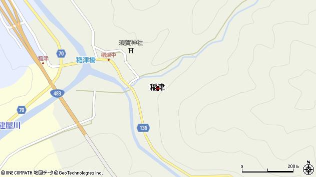 〒667-0132 兵庫県養父市稲津の地図
