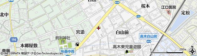 備長扇屋扶桑店周辺の地図