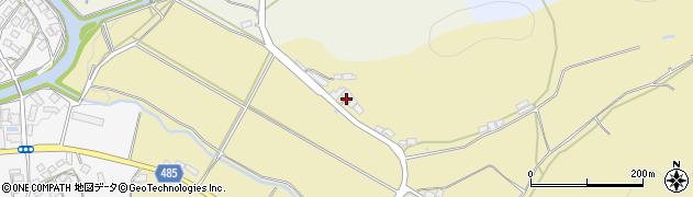 京都府綾部市白道路町(樋ノ口)周辺の地図
