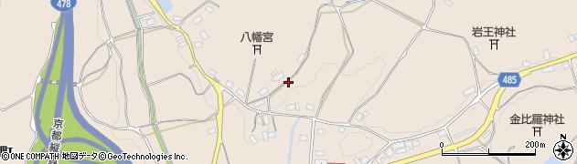 京都府綾部市七百石町(久保)周辺の地図