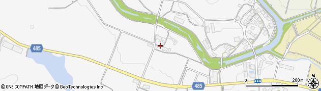 京都府綾部市物部町(的場)周辺の地図