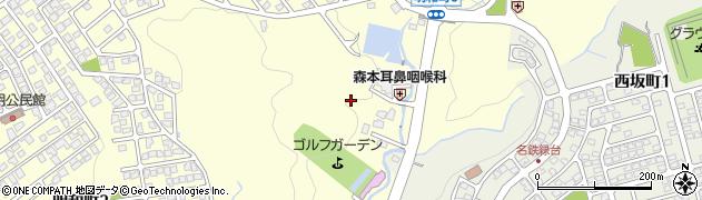 岐阜県多治見市明和町周辺の地図