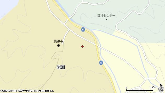 〒680-0537 鳥取県八頭郡八頭町岩淵の地図
