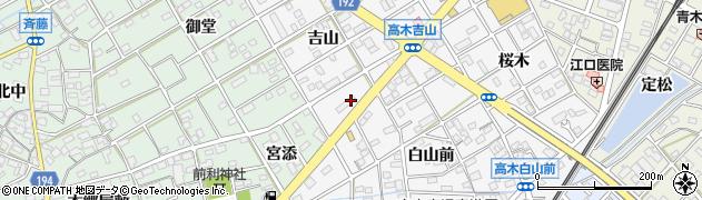 ポニー周辺の地図