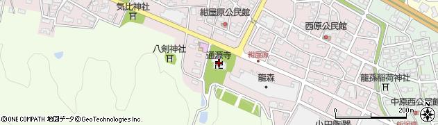 通源寺周辺の地図