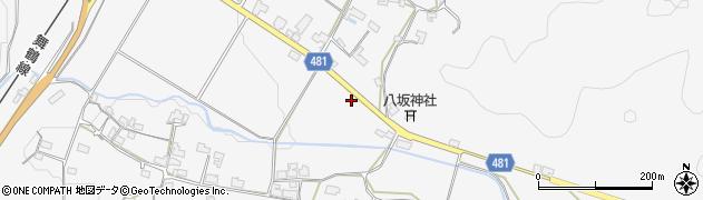 京都府綾部市上杉町(久保井根)周辺の地図