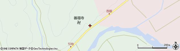 京都府綾部市睦合町(上引地)周辺の地図
