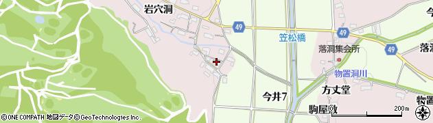 愛知県犬山市今井(前田)周辺の地図