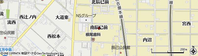 愛知県一宮市北方町北方(南辰已前)周辺の地図