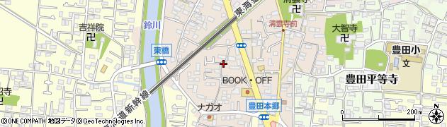 神奈川県平塚市豊田本郷周辺の地図
