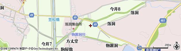 愛知県犬山市今井周辺の地図