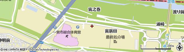 愛知県一宮市光明寺(寅之巻)周辺の地図