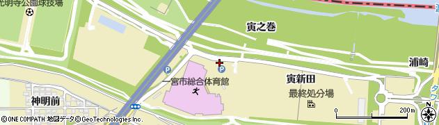 愛知県一宮市光明寺(横手東)周辺の地図
