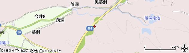 尾張パークウェイ周辺の地図