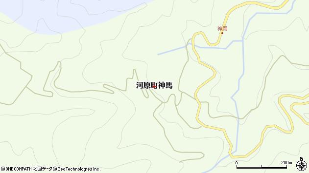 〒680-1254 鳥取県鳥取市河原町神馬の地図