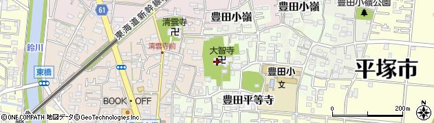 大智寺周辺の地図