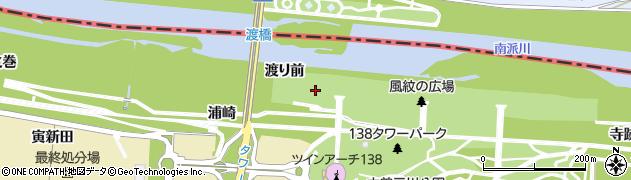 愛知県一宮市光明寺(渡り前)周辺の地図