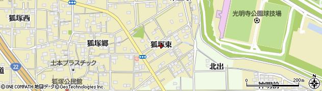 愛知県一宮市北方町北方(狐塚東)周辺の地図