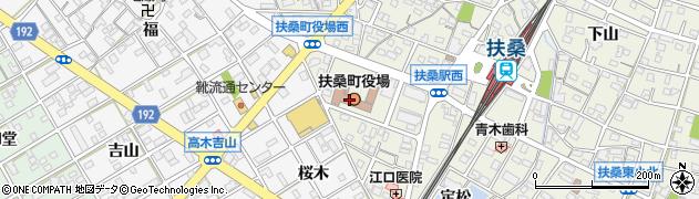 愛知県扶桑町(丹羽郡)周辺の地図