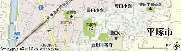 神奈川県平塚市豊田宮下周辺の地図