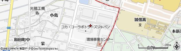 愛知県江南市和田町(旭)周辺の地図