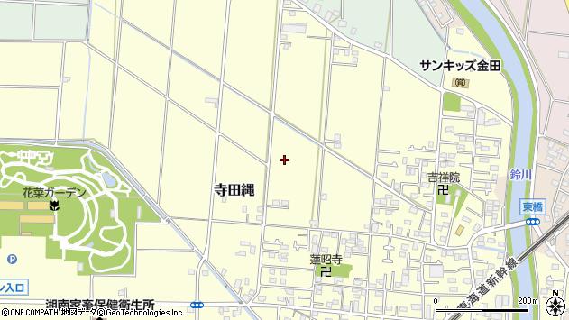 〒259-1215 神奈川県平塚市寺田縄の地図