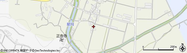 京都府綾部市志賀郷町(十代)周辺の地図