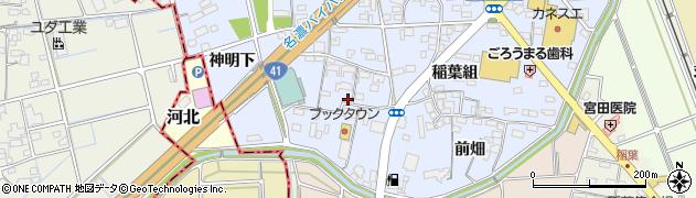 愛知県犬山市五郎丸(郷瀬川)周辺の地図