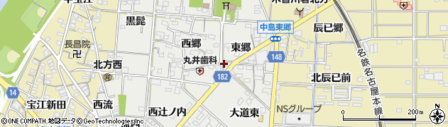 かず周辺の地図