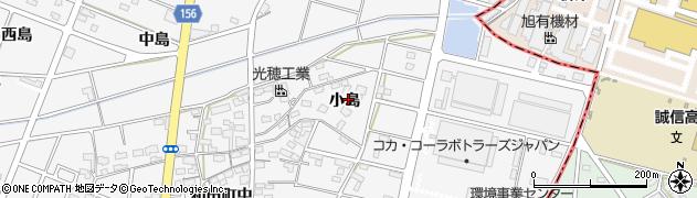 愛知県江南市和田町(小島)周辺の地図