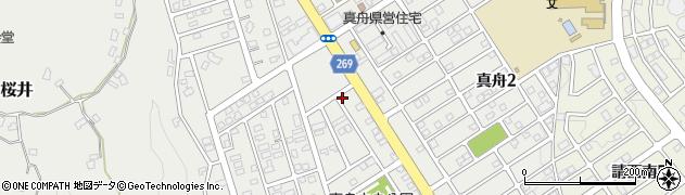 千葉県木更津市真舟周辺の地図