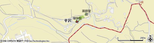 増珠院周辺の地図