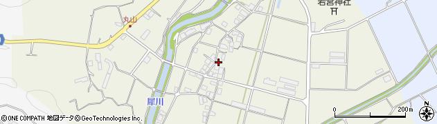 京都府綾部市志賀郷町(家際)周辺の地図
