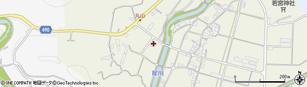 京都府綾部市志賀郷町(孫太郎)周辺の地図