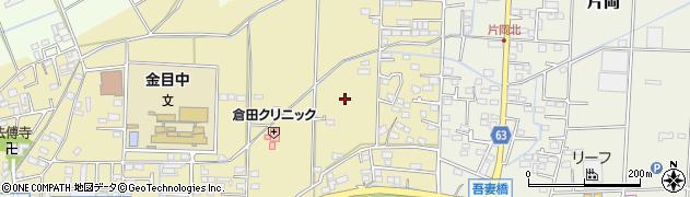 神奈川県平塚市南金目周辺の地図