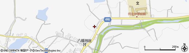 京都府綾部市物部町(大渕)周辺の地図