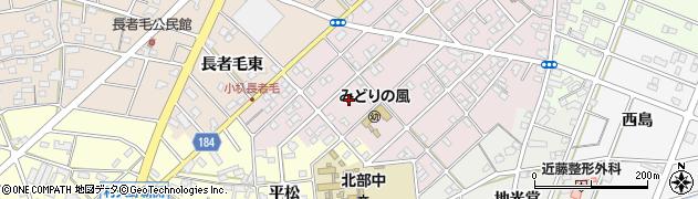 愛知県江南市慈光堂町(南)周辺の地図