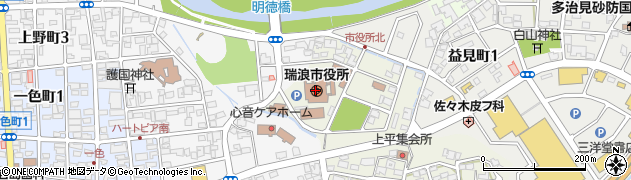 岐阜県瑞浪市周辺の地図