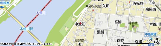 愛知県一宮市北方町北方(中宝江)周辺の地図