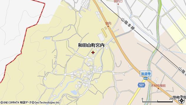 〒669-5244 兵庫県朝来市和田山町宮内の地図