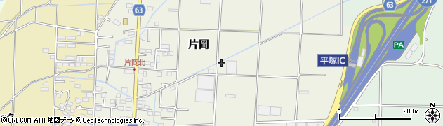 神奈川県平塚市片岡周辺の地図